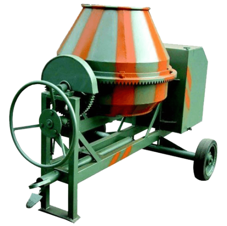 Concrete Mixers, Concrete Mixers with Reducer